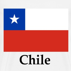 Chile Flag And Name T-Shirts - Men's Premium T-Shirt