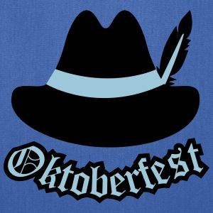 Oktoberfest (Hipster Hut) Outfit / Tracht / Wiesn Bags & backpacks - Tote Bag