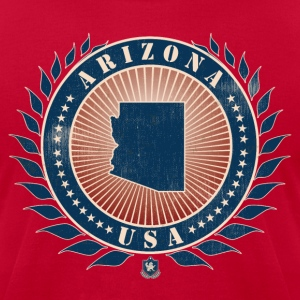 State of Arizona T-Shirts - Men's T-Shirt by American Apparel