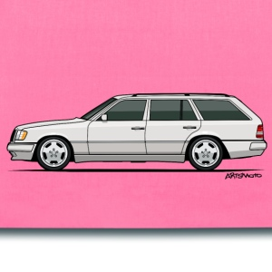 Mercedes W124 300TE Wagon (White) Bags & backpacks - Tote Bag