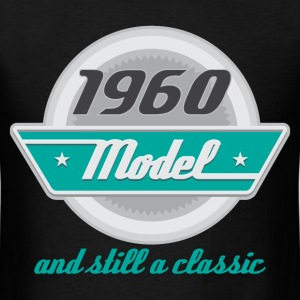 1960 Birth Year Birthday classic T-Shirts - Men's T-Shirt