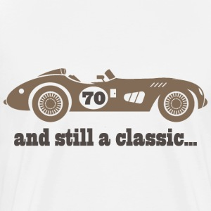 70th Birthday classic car T-Shirts - Men's Premium T-Shirt