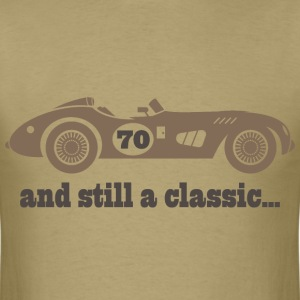 70th Birthday classic car T-Shirts - Men's T-Shirt