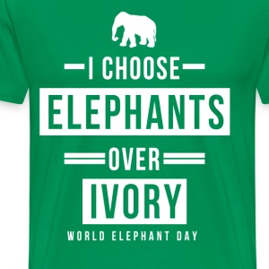 World Elephant Day T-Shirts - Men's Premium T-Shirt