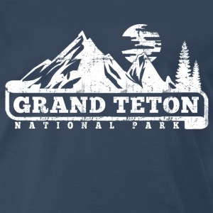 Grand Teton T-Shirts - Men's Premium T-Shirt