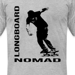Longboard Nomad - Nomad Zone T-Shirts - Men's T-Shirt by American Apparel