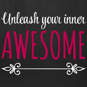 Unleash Inner Awesome Bags & backpacks - Tote Bag