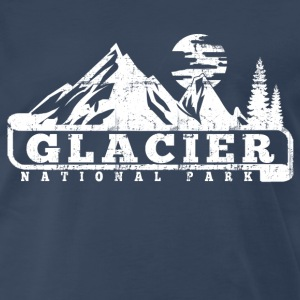 Glacier National Park T-Shirts - Men's Premium T-Shirt