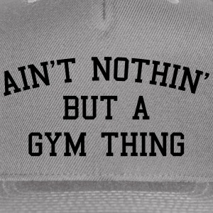 A Gym Thing Caps - Snap-back Baseball Cap