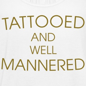 Tattooed & well mannered Tanks - Women's Flowy Tank Top by Bella