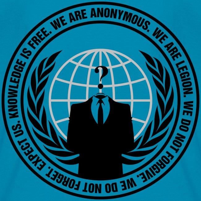 Anonymous5thnov Anonymous Logo Shirt Kids T Shirt