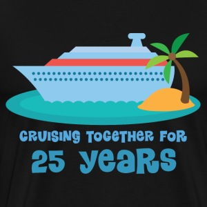 25th Anniversary Cruise T-Shirts - Men's Premium T-Shirt