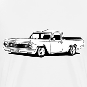 retro holden car - Men's Premium T-Shirt