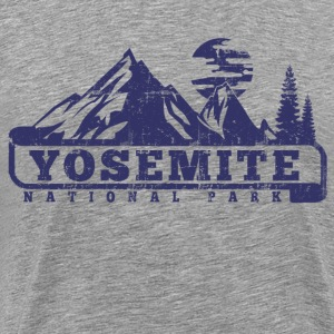 Yosemite National Park T-Shirts - Men's Premium T-Shirt