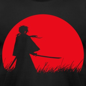 Samurai T-Shirts - Men's T-Shirt by American Apparel
