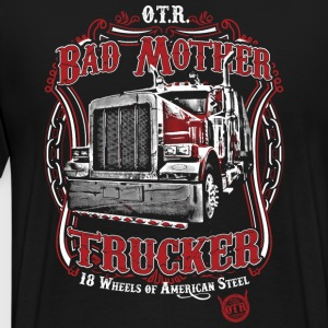 Bad Mother Trucker - Men's Premium T-Shirt