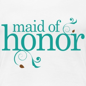 Maid Of Honor Bridal Party Women's T-Shirts - Women's Premium T-Shirt