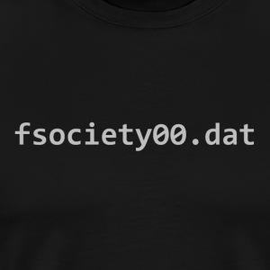 fsociety dat file - Men's Premium T-Shirt