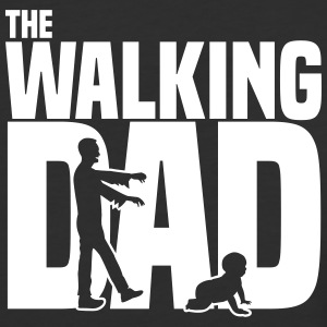 the walking dad T-Shirts - Baseball T-Shirt