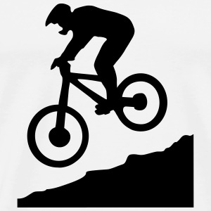 Downhill biking T-Shirts - Men's Premium T-Shirt
