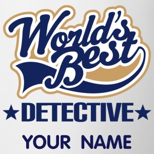 Worlds Best Detective Mugs & Drinkware - Coffee/Tea Mug