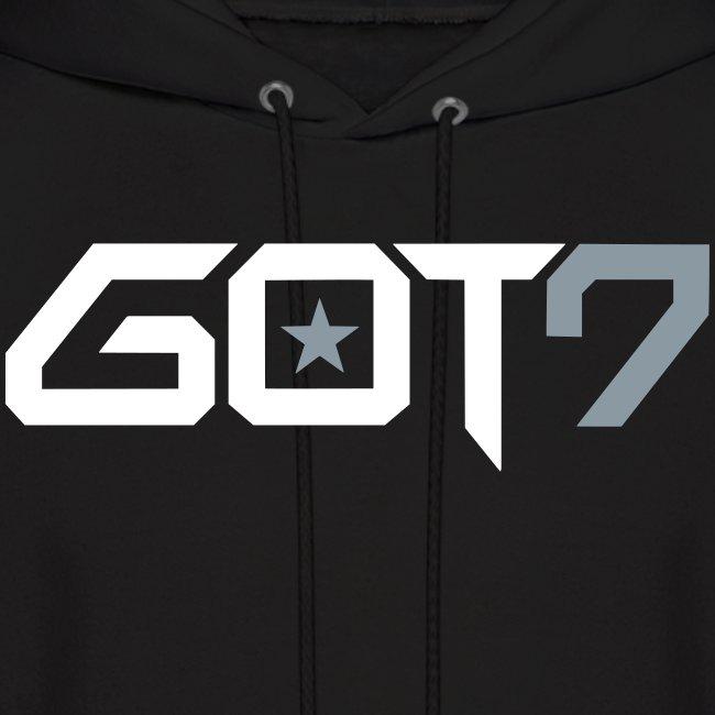 kpop fandom shop got7 logo mens hoodie