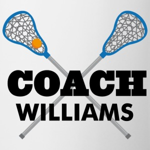 Lacrosse Coach Personalized Mug - Coffee/Tea Mug