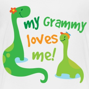 My Grammy Loves Me Baby & Toddler Shirts - Toddler Premium T-Shirt