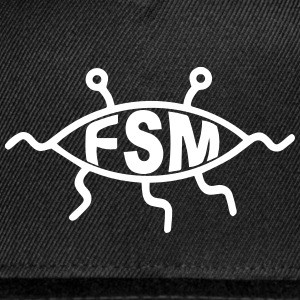 Flying Spaghetti Monster Caps - Snap-back Baseball Cap