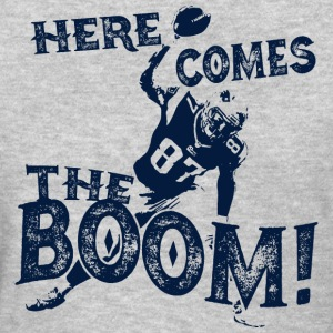 Here Comes The Boom, Gronk Spike Shirt Blue Women's T-Shirts - Women's T-Shirt