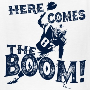 Here Comes The Boom, Gronk Spike Shirt Blue Kids' Shirts - Kids' T-Shirt