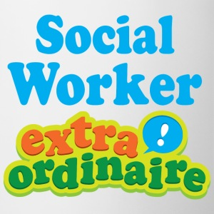 Social Worker Extraordinaire Mugs & Drinkware - Coffee/Tea Mug