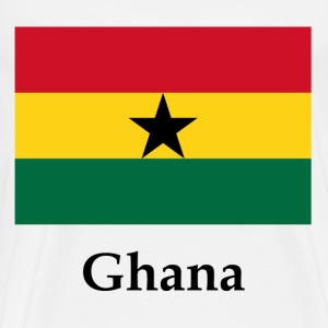 Ghana Flag - Men's Premium T-Shirt