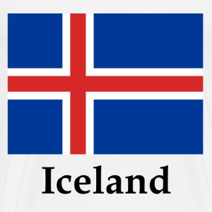 Iceland Flag - Men's Premium T-Shirt
