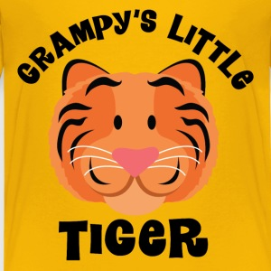 Grampy's Little Tiger grandchild Baby & Toddler Shirts - Toddler Premium T-Shirt