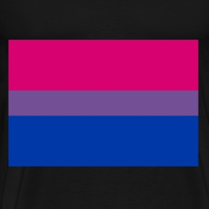 Bisexuality Flag T-Shirts - Men's Premium T-Shirt