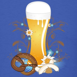 Wheat beer with snack T-Shirts - Men's T-Shirt