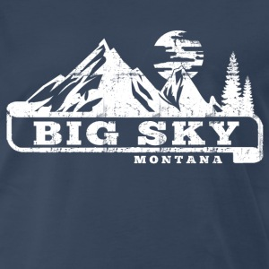 Big Sky Montana T-Shirts - Men's Premium T-Shirt