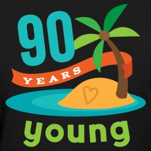90th Birthday Tropical Island Women's T-Shirts - Women's T-Shirt
