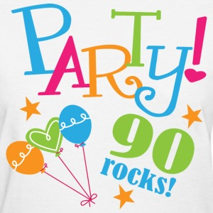 90th Birthday Party Women's T-Shirts - Women's T-Shirt