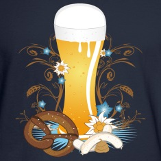 Wheat beer with snack Long Sleeve Shirts