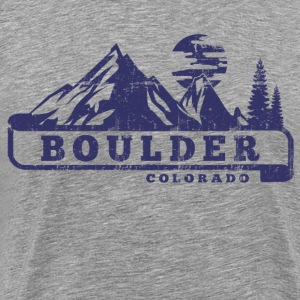 Boulder Colorado T-Shirts - Men's Premium T-Shirt
