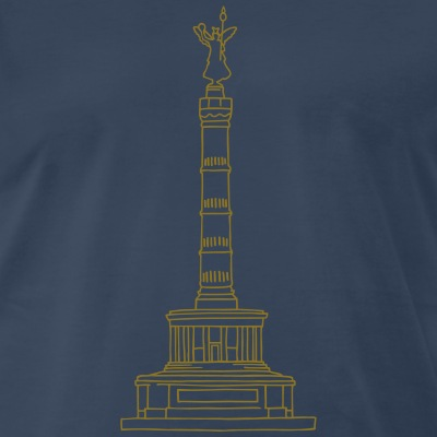 Victory Column Berlin Tiergarten souvenir landmark gold