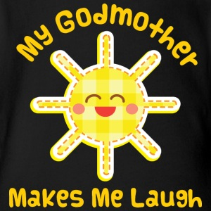 My Godmother Makes Me Laugh Baby & Toddler Shirts - Short Sleeve Baby Bodysuit