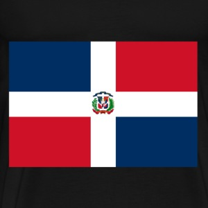 Dominican Republic Flag T-Shirts - Men's Premium T-Shirt
