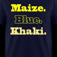 Design ~ Maize. Blue. Khaki.