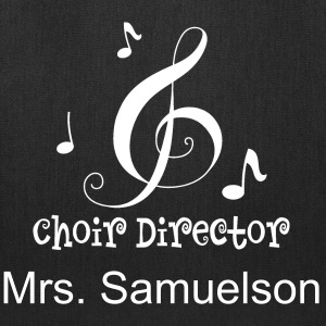 Choir Director Music Bags & backpacks - Tote Bag