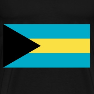 The Bahamas Flag T-Shirts - Men's Premium T-Shirt