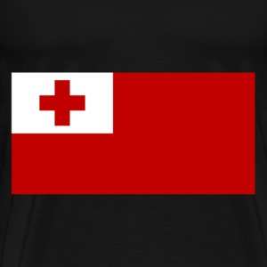 Tonga Flag T-Shirts - Men's Premium T-Shirt