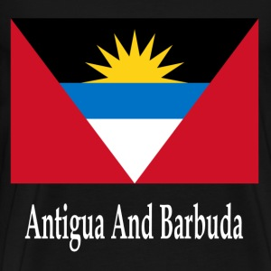 Antigua And Barbuda Flag T-Shirts - Men's Premium T-Shirt